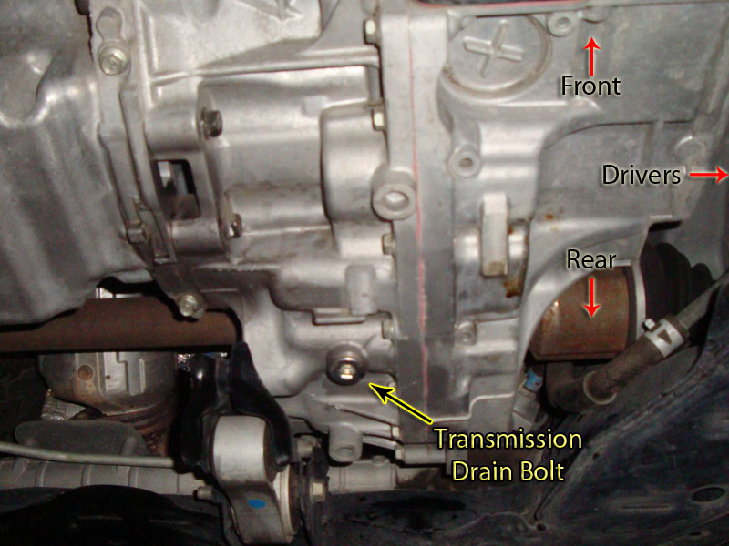 2007 cx 9 transmission fluid